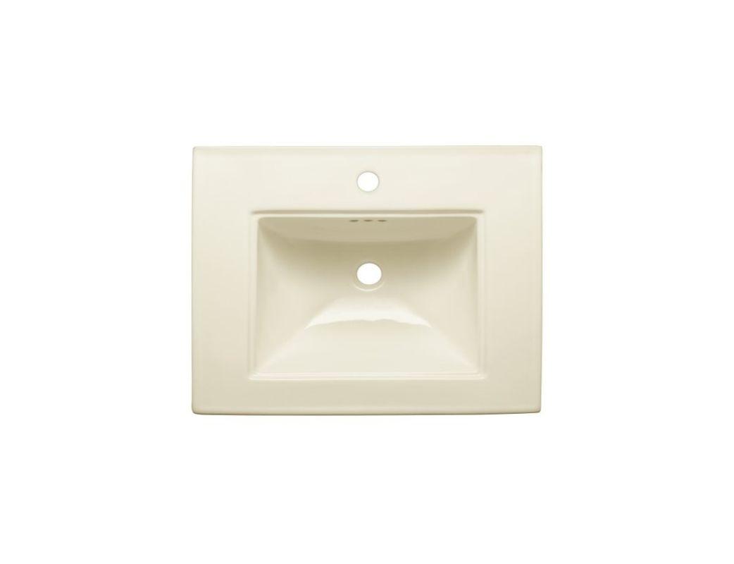 kohler memoirs 2738in h white fireclay pedestal sink base