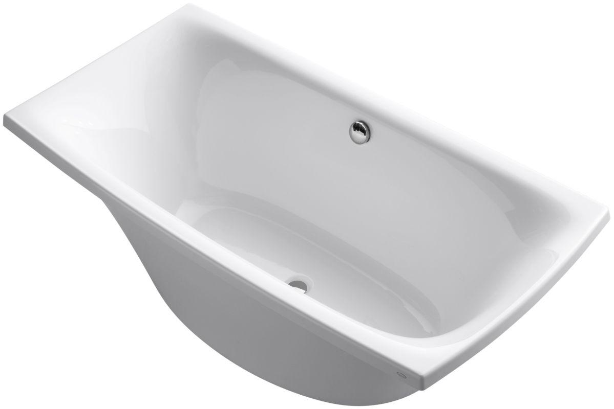 Kohler K 14037 0 White 72 Quot X 36 Quot Freestanding Soaking Tub