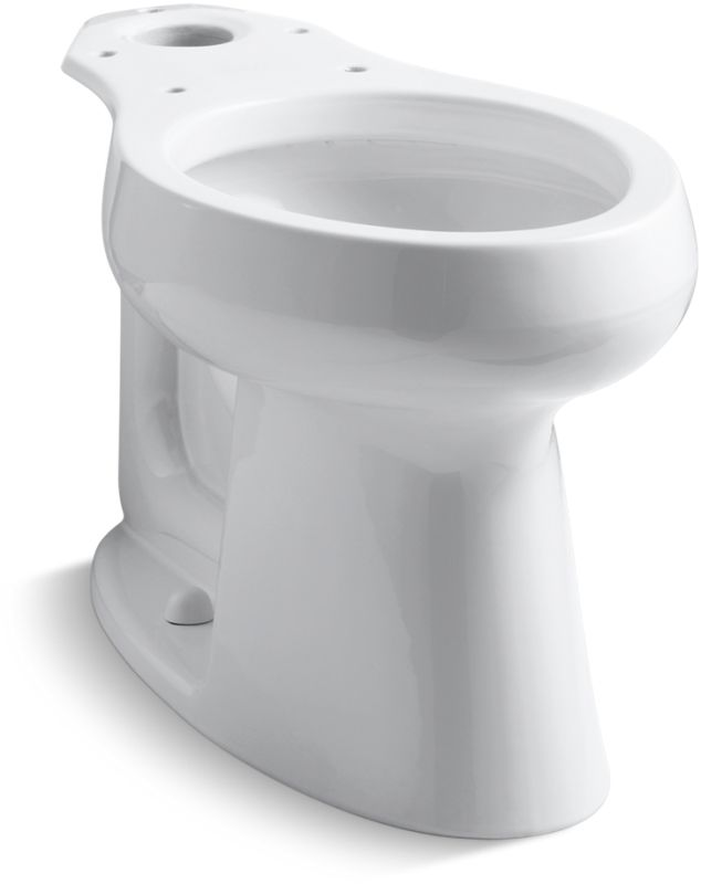 Kohler K 4199 0 White Comfort Height Elongated Bowl Only