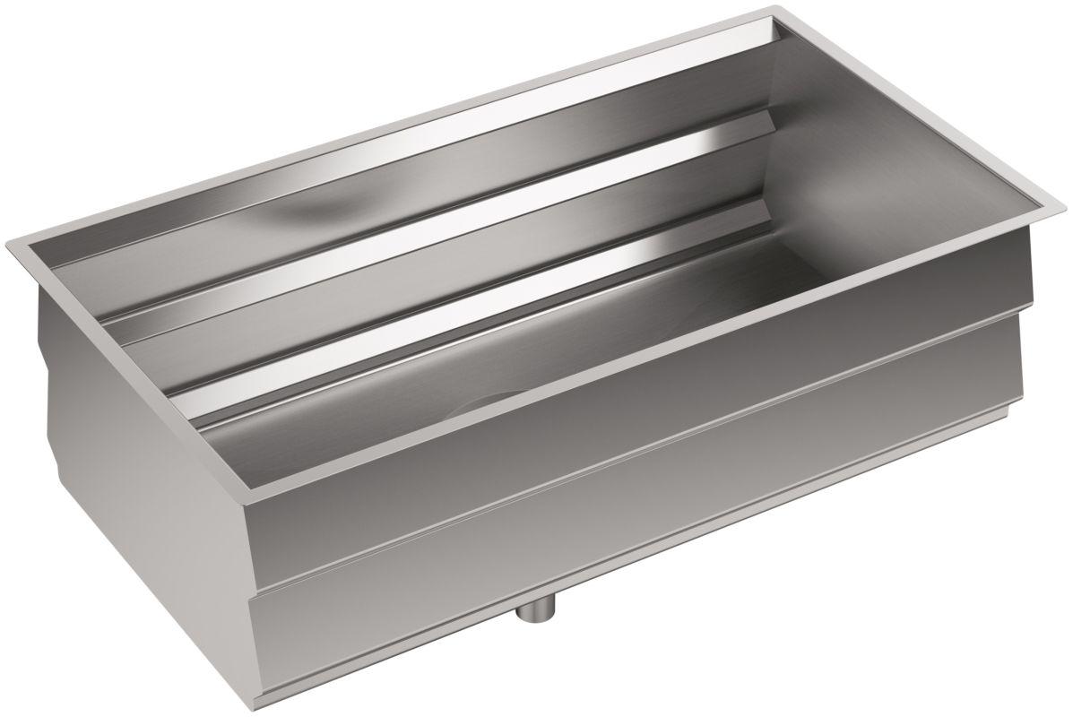 """Kohler K-5540-NA Stainless Steel Prolific 33"""" Single Basin"""
