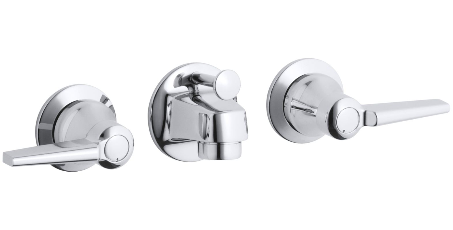 Kohler K 8040 4a Cp Polished Chrome Triton Wall Mount