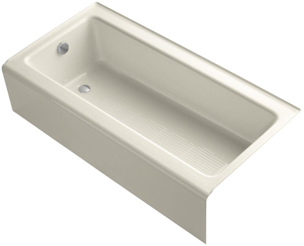 Kohler K 837 47 Almond Bellwether 60 Quot Alcove Soaking Tub