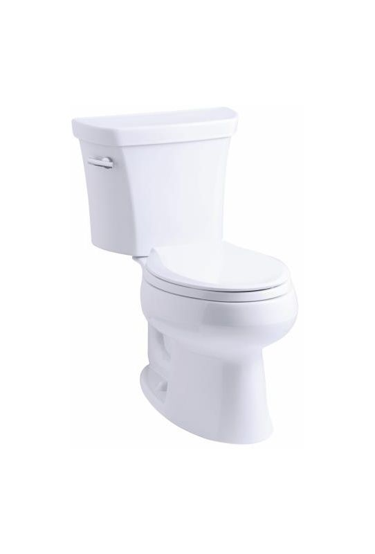 Kohler K 3978 0 White 1 6 Gpf Two Piece Elongated Toilet