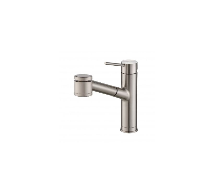 Kraus Faucet Installation : Kraus KPF-2610SS Stainless Steel Mateo Single Lever Pull Out Kitchen ...