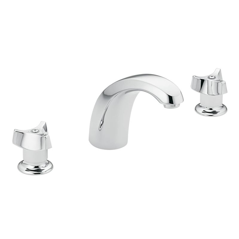Moen 8966 Chrome Single Handle Widespread Bathroom Faucet From The M Bition Collection Valve
