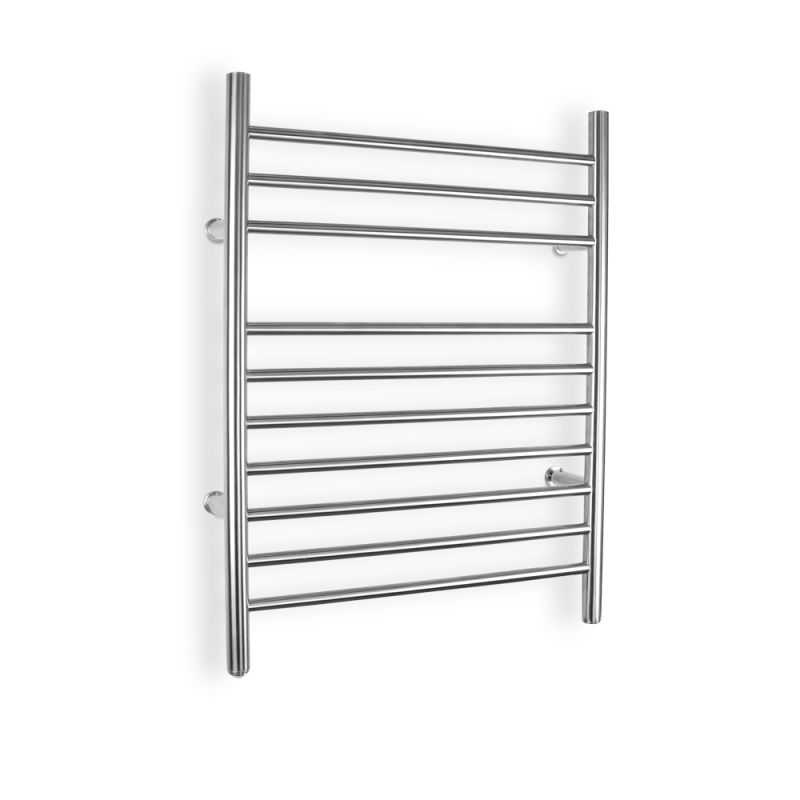 Warmlyyours tw f10bs hw ti brushed stainless steel for Porte serviette ikea
