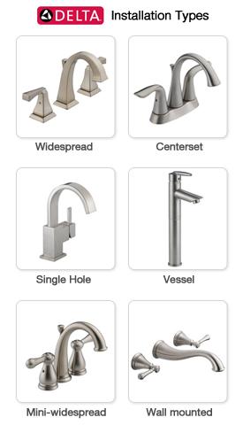 Delta Bathroom Faucets At Faucetdirect Com