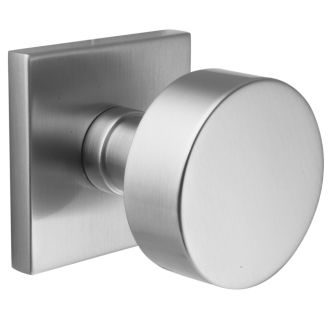 Emtek C505ROUUS15 Satin Nickel Round Knob Set Reversible Non Turning  Two Sided Dummy Door Knob Set With CF Mechanism From The Brass Modern  Collection ...