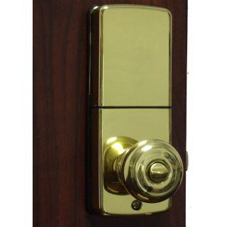 Lockey E 930ab R Antique Brass Electronic Keypad Knob