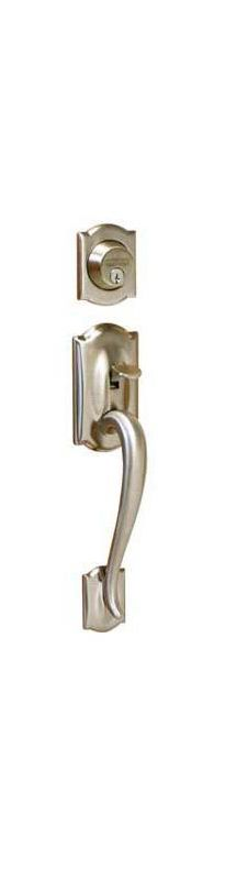 Schlage F62cam619flarh Satin Nickel Camelot Right Hand