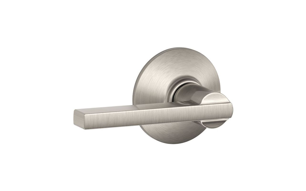 Schlage F10lat619 Satin Nickel Latitude Reversible Passage