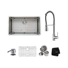 Kitchen Sink and Faucet Sets