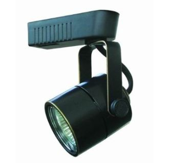 cal lighting ht258abk black 1 light adjustable mr16 track head for ht series track systems
