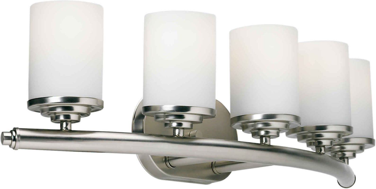 Forte Lighting 5105 05 55 Brushed Nickel 29 Quot Modern 5
