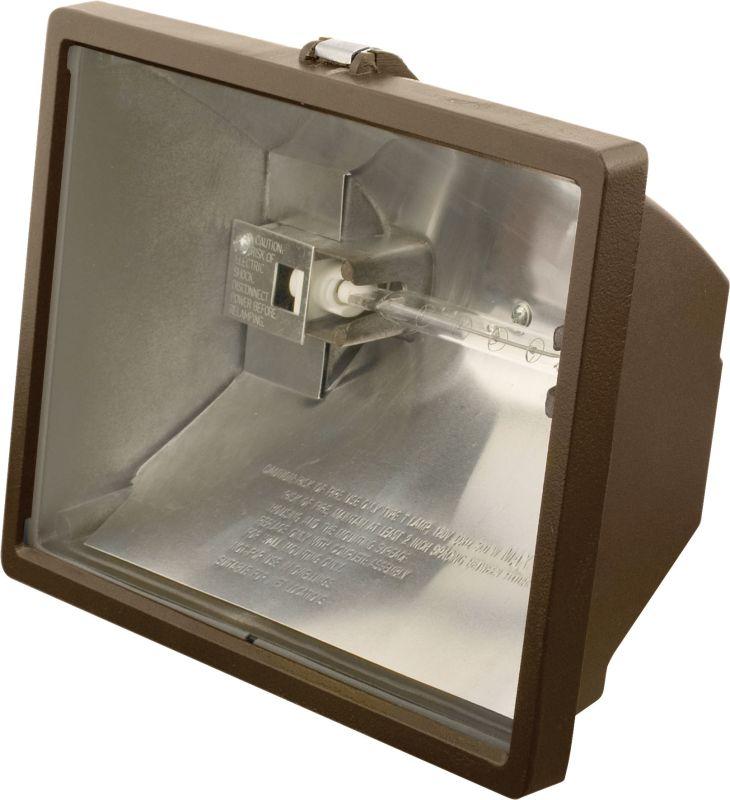 Hubbell Lighting Outdoor Q-500-B Bronze 1 Light 500 Watt