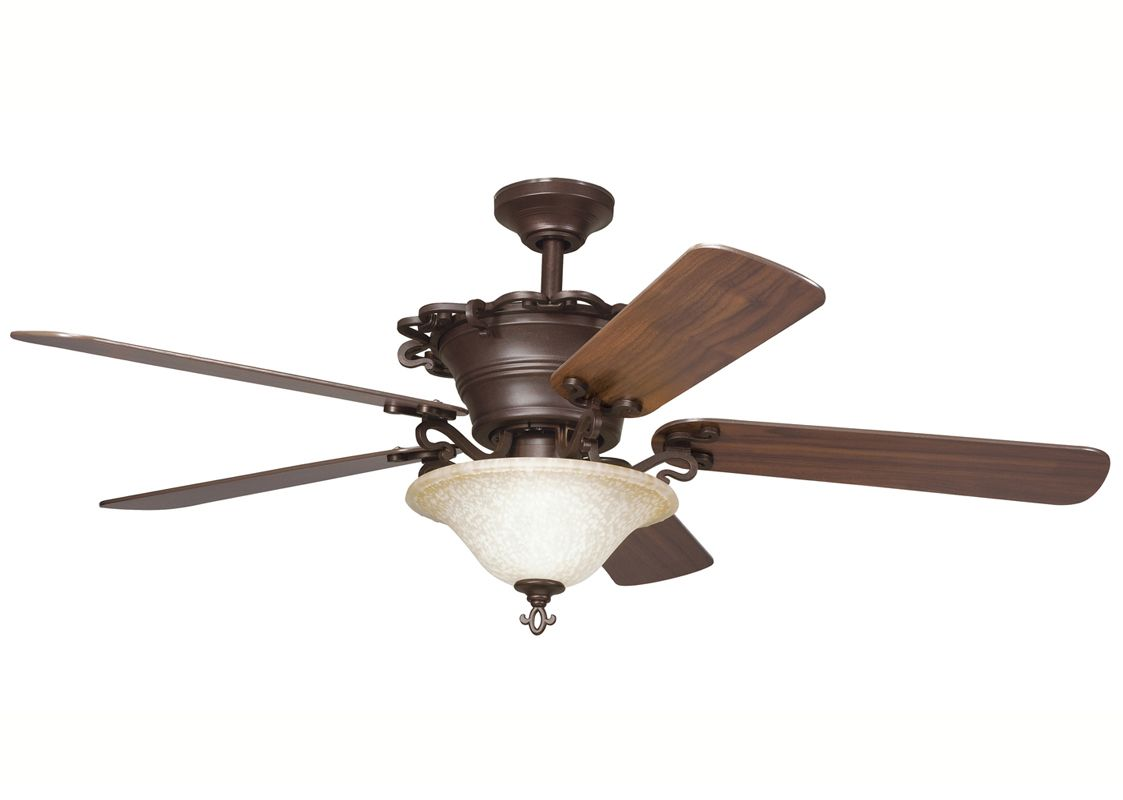 Kichler 300006cz Carre Bronze 54 Quot Indoor Ceiling Fan With