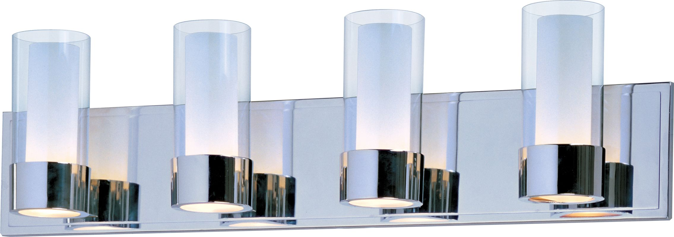 Maxim 23074CLFTPC Polished Chrome / Clear And Frosted