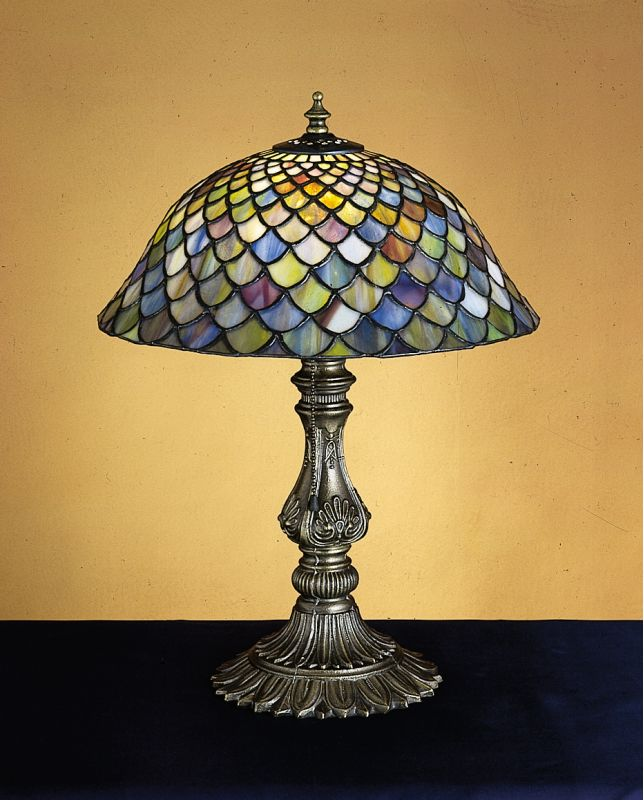 tiffany 26673 tiffany glass stained glass tiffany accent table lamp. Black Bedroom Furniture Sets. Home Design Ideas