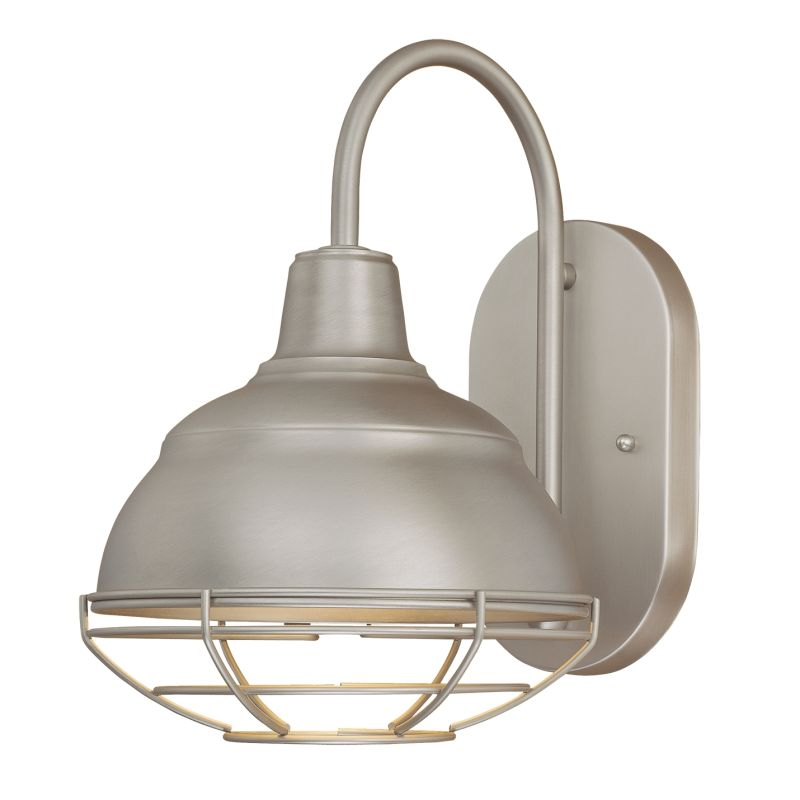millennium lighting 5321 sn satin nickel neo industrial 1 light indoor. Black Bedroom Furniture Sets. Home Design Ideas