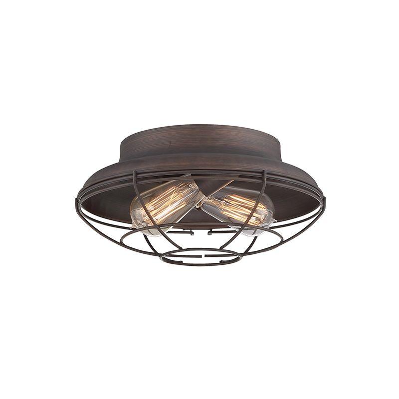 millennium lighting 5382 rbz rubbed bronze neo industrial 2 light 12. Black Bedroom Furniture Sets. Home Design Ideas