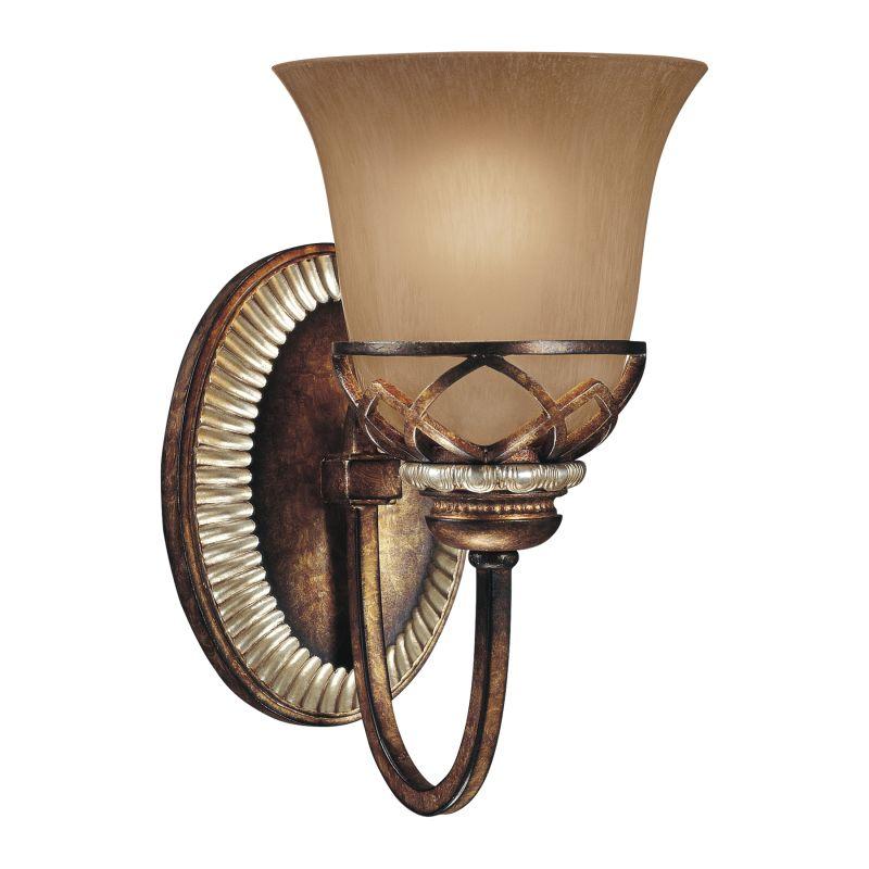 Minka lavery 5741 206 aston court bronze 1 light for Height of sconces
