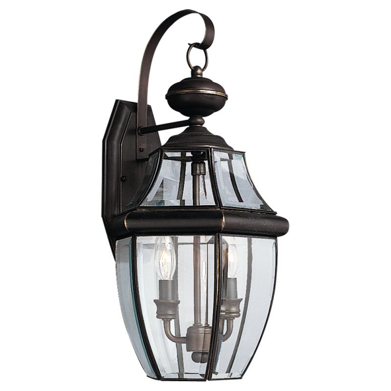 Sea Gull Lights: Sea Gull Lighting 8039-71 Antique Bronze Lancaster 2 Light