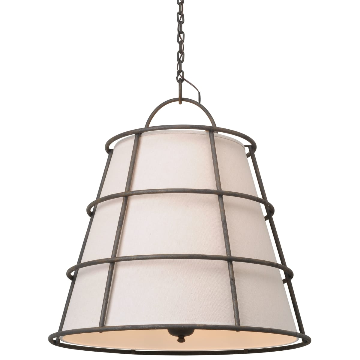 Troy Lighting F3906 Liberty Rust Habitat 6 Light Pendant