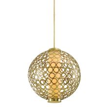 4 Light Foyer Pendant from the Bangle Collection