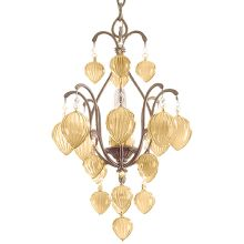 Single Light Full Sized Pendant from the Venetian Collection