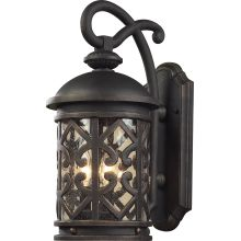 Tuscany Coast 3 Light Outdoor Wall Sconce
