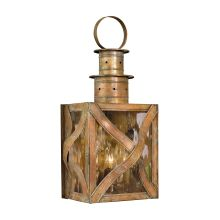 Dune Road 3 Light 23 Inch Tall Outdoor Wall Sconce