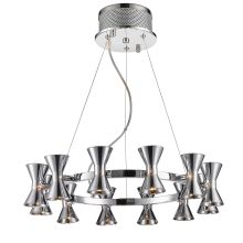 Kim 12 Light 1 Tier Chandelier