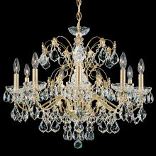"26"" Wide 9 Light Candle Style Chandelier from the Century Collection"