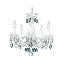"15"" Wide 5 Light Candle Style Chandelier from the Allegro Collection"
