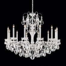 "34"" Wide 12 Light Candle Style Chandelier from the Sonatina Collection"