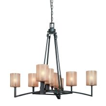 Austin 9 Light Chandelier with Glass Shades