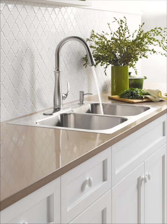 Kohler K 560 Cp Polished Chrome Bellera Pull Down Kitchen