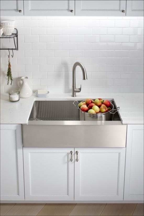 Kohler K 72218 Vs Vibrant Stainless Sensate Touchless Kitchen Faucet