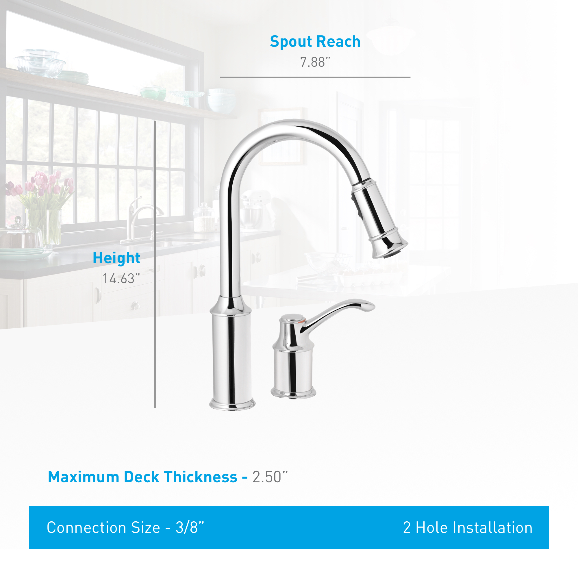 kitchen stainless off spray faucet from spot the board collection moen muirfield com side with resist