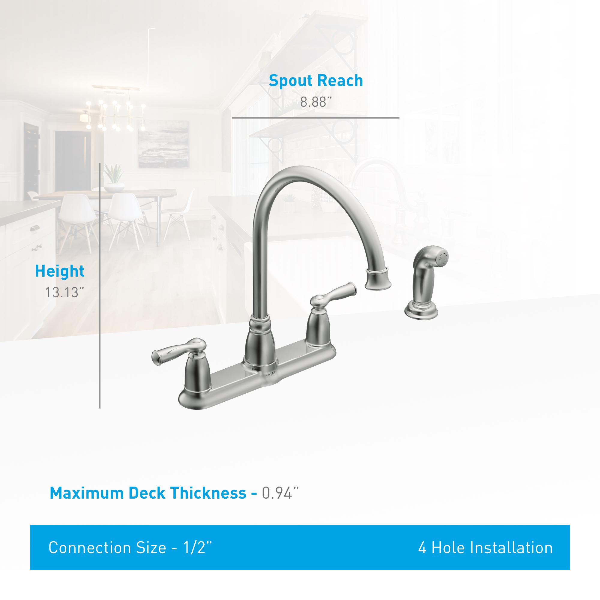 Moen Ca87000 Kitchen Faucet Build Com