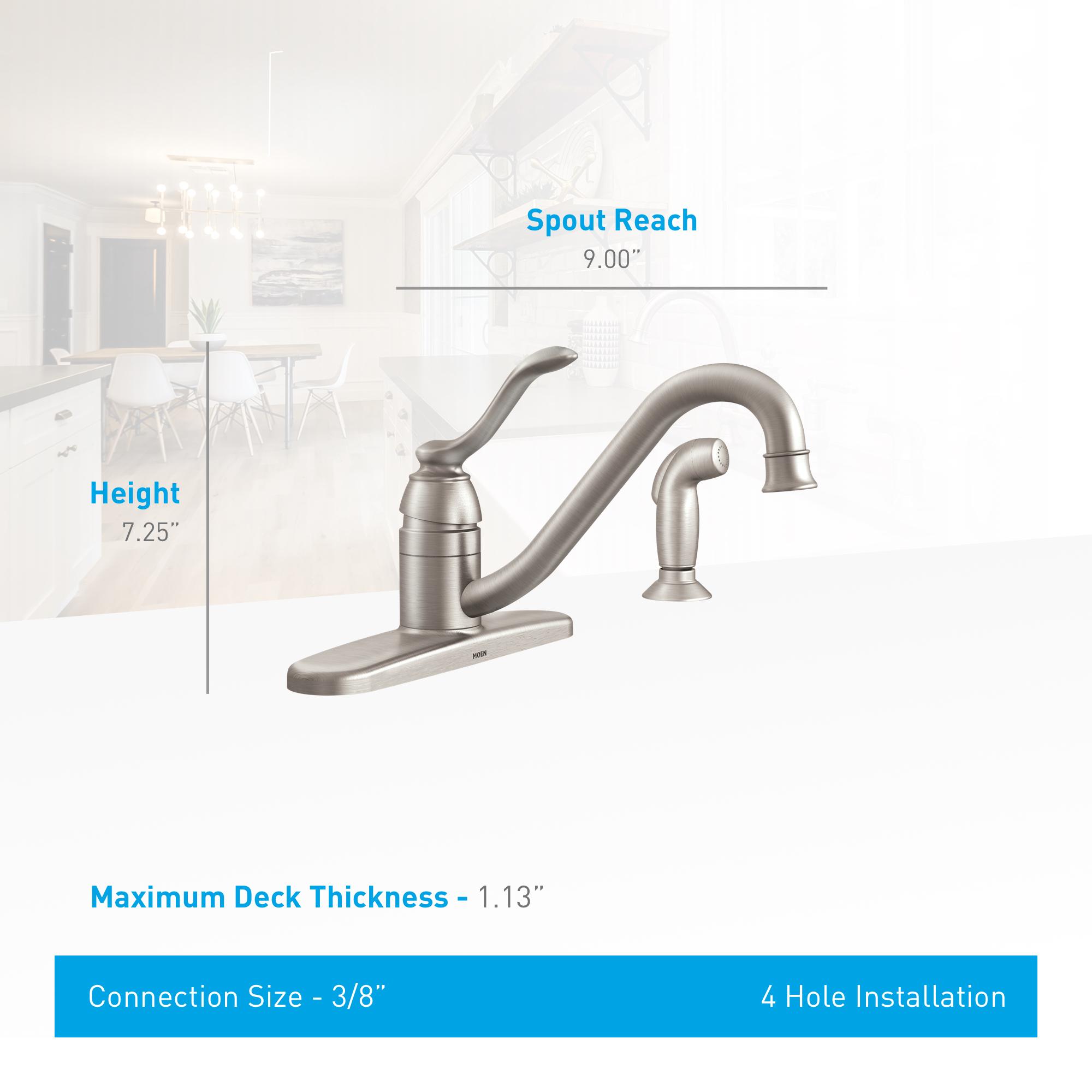 com faucet goto handle bathroom techdoc single