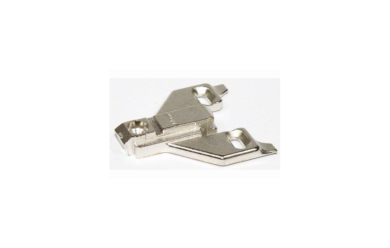 Blum 175l6600 22 Nickel Clip Top Face Frame Adapter Plate
