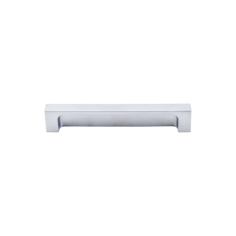top knobs tk276alu aluminum modern metro 5 inch center to