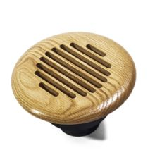 GrillWorks Louvered Round Vent - Insert