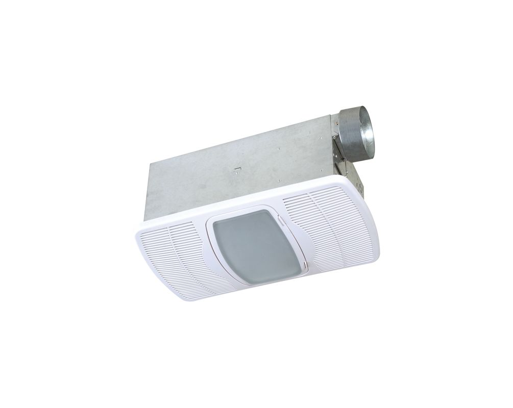 Air King Ak55l White 70 Cfm Hvi Certified 5 0 Sone Exhaust Fan With Integrated Light And Heater