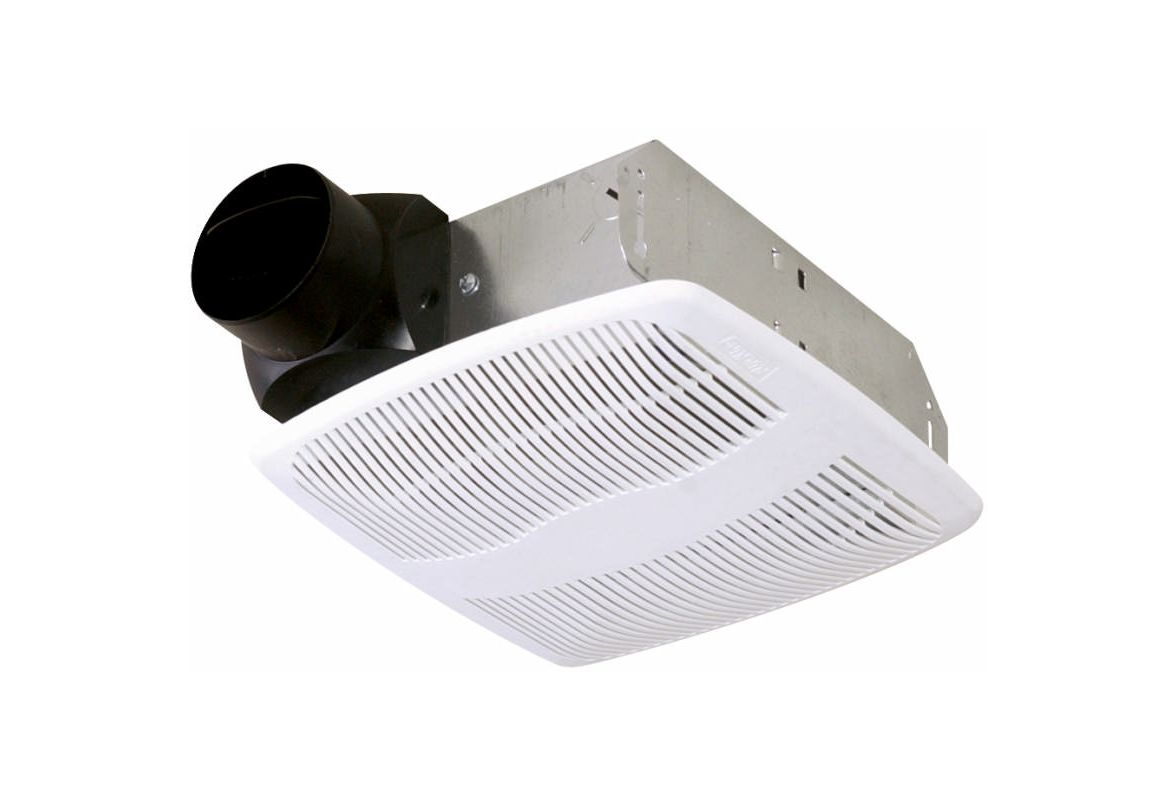 Air King AS70 White 70 CFM Quiet Bath Fan Only With 4.0