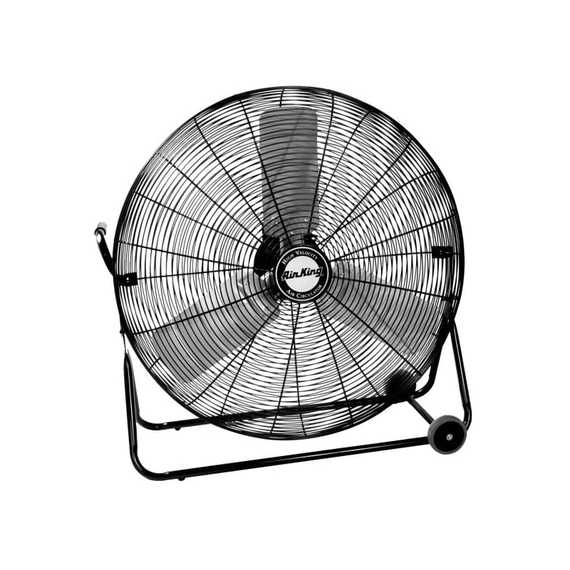 Commercial Floor Fans : Air king na quot cfm speed industrial grade