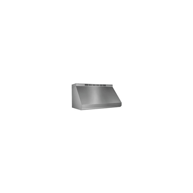 Broan E6030ss Stainless Steel 600 Cfm 30 Wide Stainless Steel Wall Mounted Range Hood With Heat