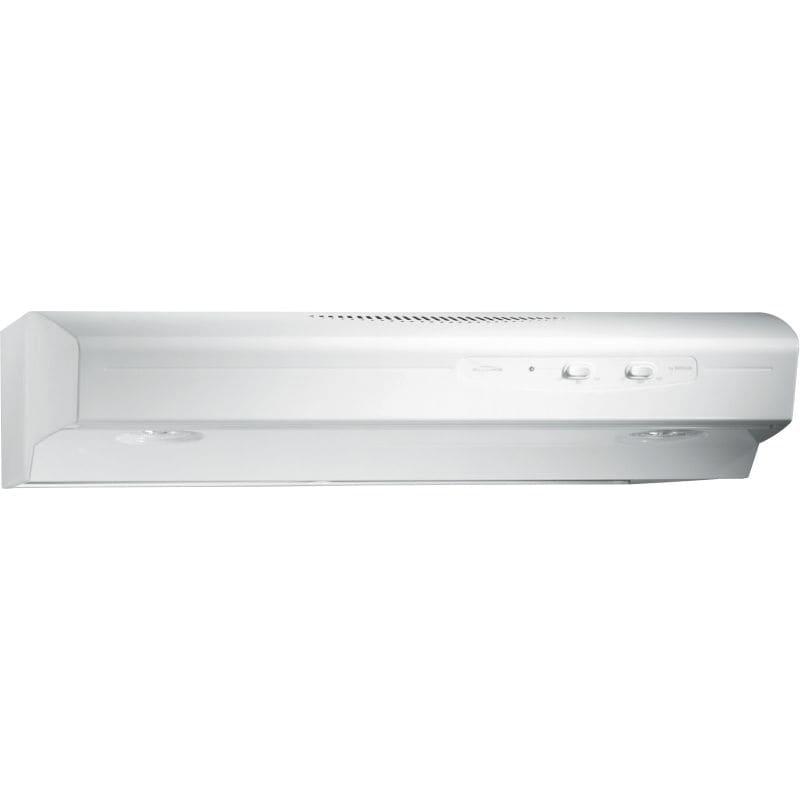 Broan QS142WW White 220 CFM 42u0026quot; Wide Steel Under Cabinet ...