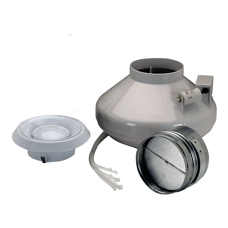 Nutone ilfk250 white 250 cfm energy star rated and hvi for Nutone bathroom exhaust fan installation